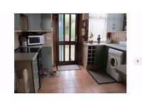 Full fitted kitchen, worktops, sink and tap