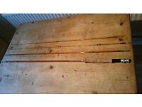 Vintage Hardy LRH Dry Fly 3 Piece Rod