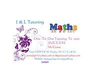 Tutor GCSE Mathematics. Tutoring to your succes.