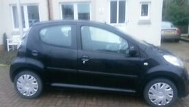 Citroën C1 2008, 4 door, Black, Immaculate condition.