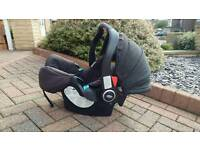 Car seat with base