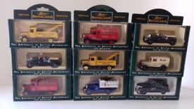 9 x toy cars/automobiles