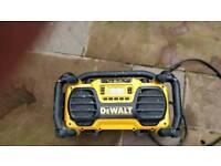Dewalt dc013 radio and battery