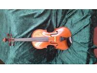 full sized french violin