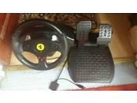 Thrustmaster steering wheel