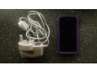 iPhone 4 - Very good condition with case, screen protector and charger