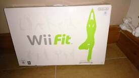 Wii fit bord