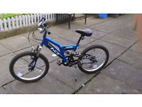 Kids mountain bike INDI OUTRIDER - LIKE NEW ONLY USED 3 TIMES !! £50 !!