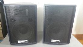 """P.A.C Pure Audio Concept PA Loudspeaker 12"""" Speakers"""
