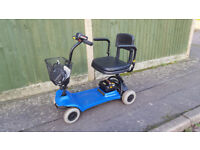 Car Boot Shoprider Altea Mobility Scooter + New Batteries