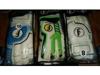 Shop soiled goalkeeper gloves new 5.00 each