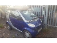 SMART AUTO. LEFT HAND DRIVE. 77000. WITH CRAZY SUNROOF! SEE PICS. NO MOT......NO OFFERS ReAd AdVeRt