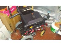 Power wheelchair all fully working with manual and charging system