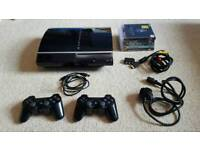 Sony PlayStation 3 With 80gb Storage And 5 Games