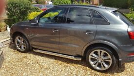 AUDI Q3 S-LINE PLUS SPEC 185 BHP 18300miles LIKE NEW