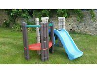 little tikes seek and explore climbing frame,playhouse,slide
