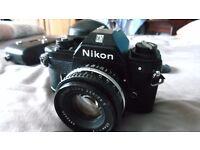 Nikon EM SLR Camera with 50mm Lens