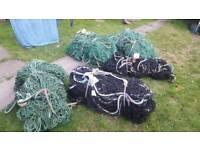 Safety netting 15m x 9m