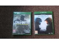 Xbox one games ( new )