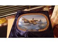 The lancaster RAF plate