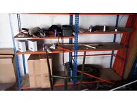 Metal Shelving Industrial Boltless Racking Garage Heavy Duty Shelf Bay 3 Tier
