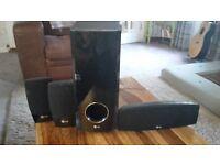 Set of 4 LG speakers