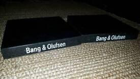 Granite plinths for Bang Olufsen Beolab/Beovox speakers, subwoofer.