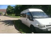 2001 transit minibus. NO RUST