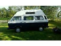 Vw t25 camper van high top 2/4 berth