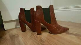 Red Paper Dolls Boots - size 4