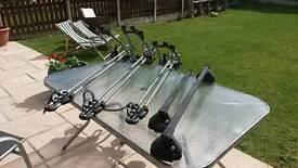 Roof bars and cycle racks