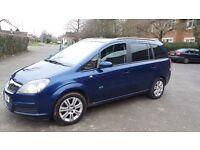 Vauxhall zafira. Recent timing belt change 12 months mot./ swap for a van caddy connect