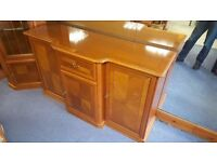 Large Light Wood Sideboard