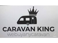 CARAVANS & MOTORHOMES WANTED FOR CASH. CaravanKING. Webuyanycaravan. Anything considered