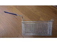 2 Frying Basket for Takeaway Restaurant Chip Fish Fryer Heavy Duty 330x160x150mm