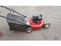 petrol rotary lawn mower