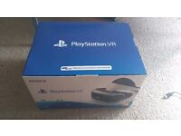 PLAYSTATION VR HEADSET BRAND NEW SEALED