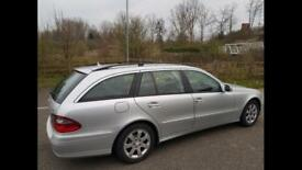 Mercedes E220 auto 2009 silver estate
