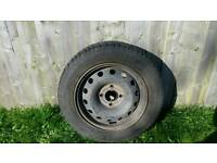 Ford fiester spare wheel