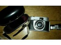Beirette camera with case can post