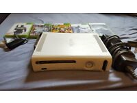 Xbox 360 HDMI fully working with five games, wifi adapter, built-in hard drive