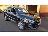 Volkswagen Tiguan Sport 2.0TDI 140 4motion in black