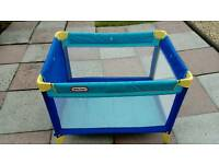 Little Tikes travel cot