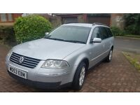 Vw passat, I year mot central lock full service history, cheap on fuel and tax 2204plate