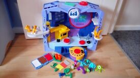 Monsters University playset and figures