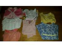 Baby girl 0-3months designer clothes