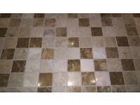 Art Mosaic Company brand, Emperador Mix Mosaic Tiles, 30 x 30 single sheet, TOP QUALITY