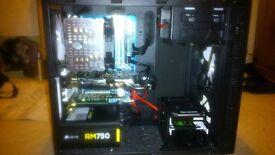 Custom Built PC E3 1230 3.2 Ghz, Gtx 660 Ti, 8Gb DDR3