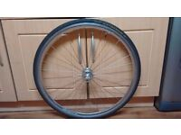 halo 700c Front wheel with tyre