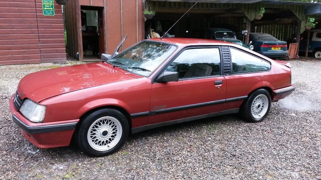 opel monza gse 1984 for renovation for sale in beauly highland gumtree. Black Bedroom Furniture Sets. Home Design Ideas